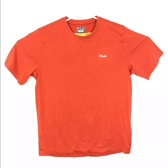 ❤️Fila Mens Top Red Short Sleeve Size Medium